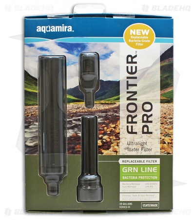 Aquamira Frontier Pro Ultralight Water Filter 67006
