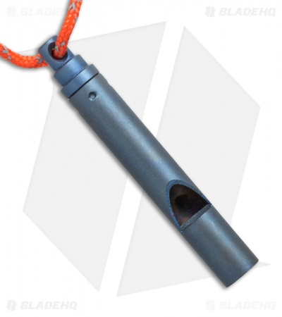 Vargo Titanium Emergency Whistle - Blue