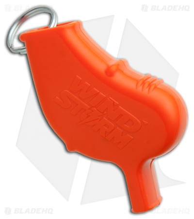 Wind Storm Personal Safety Whistle (Orange)