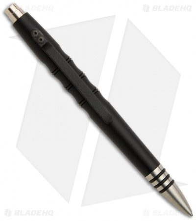 Tuff-Writer Precision Press Series Midnight Black Aluminum Retractable Pen