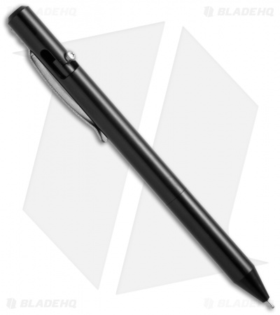 Maxmadco Lightweight Bolt Action Retractable Pen (Black)