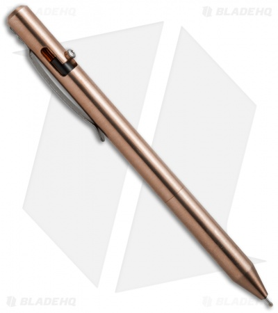Maxmadco Bolt Action Retractable Pen (Bronze)