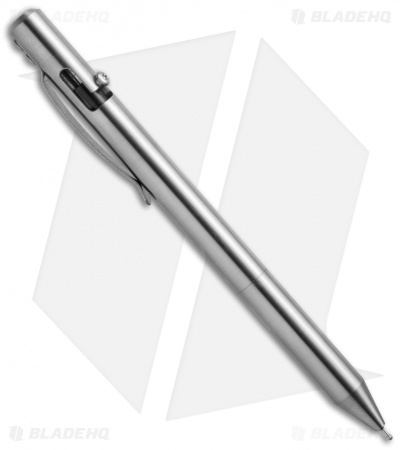 Maxmadco Bolt Action Retractable Pen (Stainless Steel)