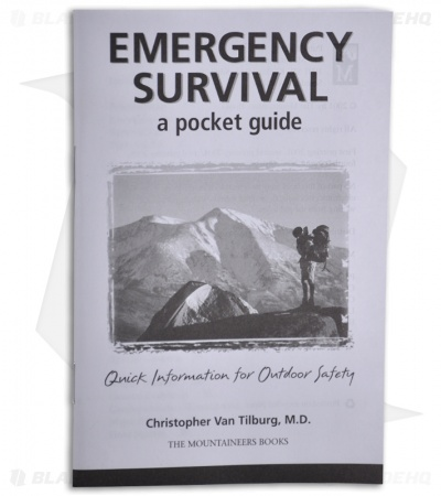 Emergency Survival: A Pocket Guide by Christopher Van Tilburg, M. D.