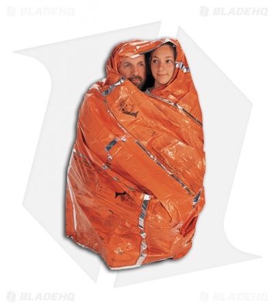 Advanced Medical S.O.L. Heatsheets Survival Blanket (Fits 2 People)