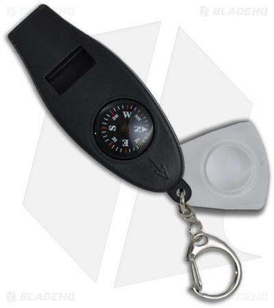 Explorer Whistle, Compass & Magnifying Glass