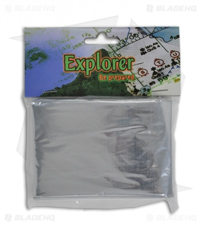 Explorer Emergency Blanket (Silver)