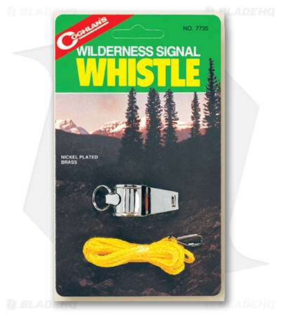 Coghlan's Wilderness Signal Whistle 7735