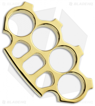 Woody Knuckles Tango Solid Brass (Polished)
