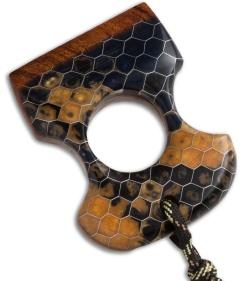 Martin Custom Woodworks Ironwood Honeycomb Knuckle Bhq