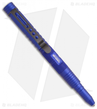 Takedown Tactical Rescue Pen w/ Glass Breaker Tip (Blue)