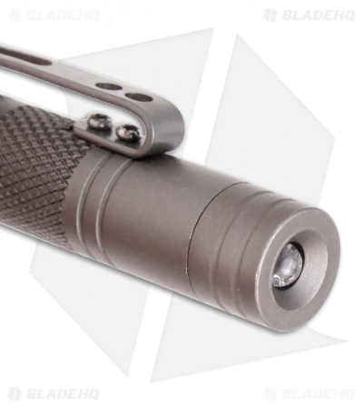 Takedown Elite Tactical Defense Pen w/ Spike & LED (Gunmetal) TDH-5