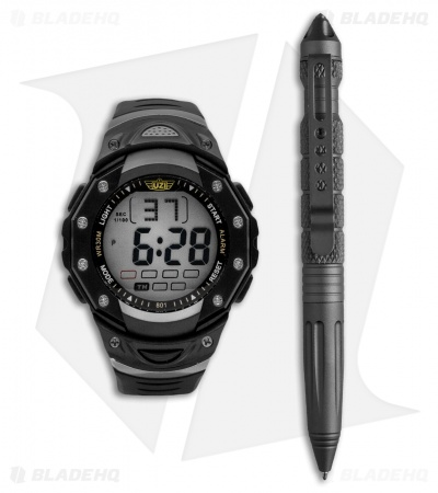 UZI Tactical Pen & Watch Gift Set UZI-TPW-COMBO