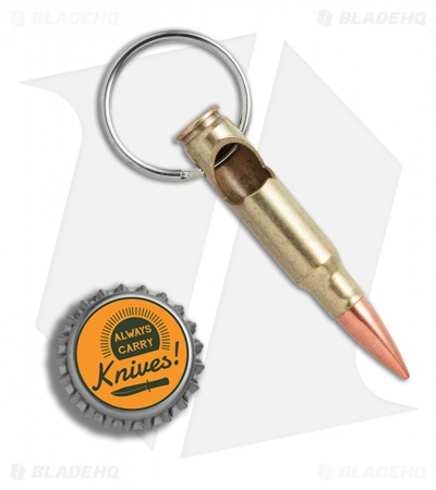 5ive Star Gear Lucky Shot 7.62/.308 Military Casing Bottle Opener Key Chain