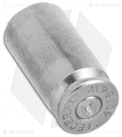 Hollow-Point Gear Silver Bullet .40 Caliber Valve Caps (Set of 4)