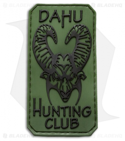 Bastinelli Creations Dahu Hunting Club PVC Patch Green/Black