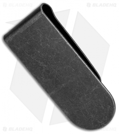 Bastinelli Creations Money Clip Stainless Steel - Black SW
