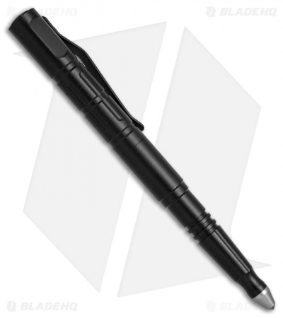 Bear Edge 521 Aluminum Tactical Pen w/Carbide Glass Breaker (Black) 71521