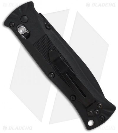 "Benchmade Pardue AXIS Lock Knife (3.25"" Black) 530BK"