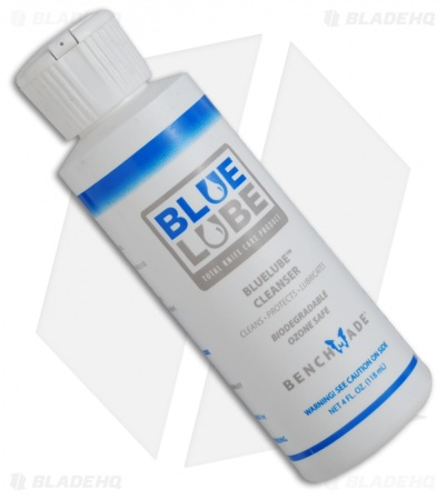 Benchmade Blue Lube Cleanser 4 oz. Bottle