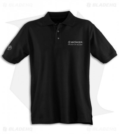 Boker Professional Polo Shirt 2.0 (Black) 09BO230