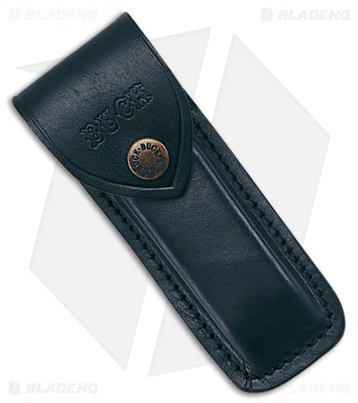 Buck 110 Folding Hunter Leather Belt Sheath Black 0110-05-BK