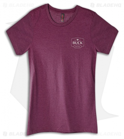 Buck Crew Neck Tee Women's Large