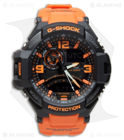 Casio G-Shock Aviation Series Multi-Function Digital Men's Watch GA-1000-4ACR