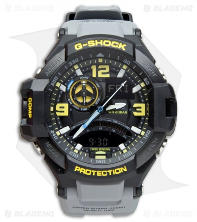 Casio G-Shock Aviation Series Multi-Function Digital Men's Watch GA-1000-8ACR
