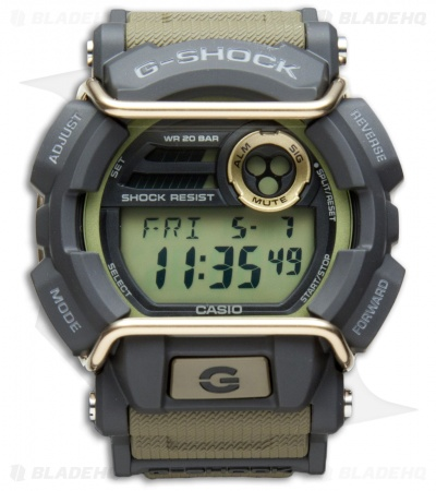 Casio G-Shock Classic Digital X-Large Men's Watch - OD Green GD4009CS