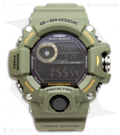 Casio G-Shock Rangeman Multi-Function Digital Men's Watch Green GW-9400-3CR