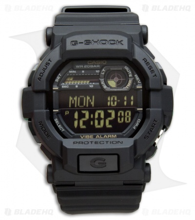 Casio G-Shock GD350 Digital X-Large Men's Watch - Black GD3501BCR