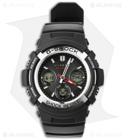 Casio G-Shock Solar Atomic Analog Men's Atomic Watch AWGM100-1A Digi