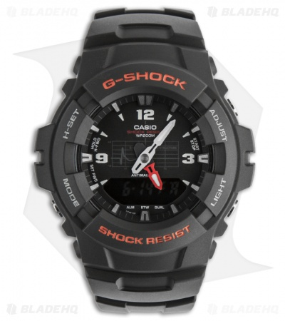 Casio G-Shock Classic Analog Digital Anti-Magnetic Men's Watch G100-1BV