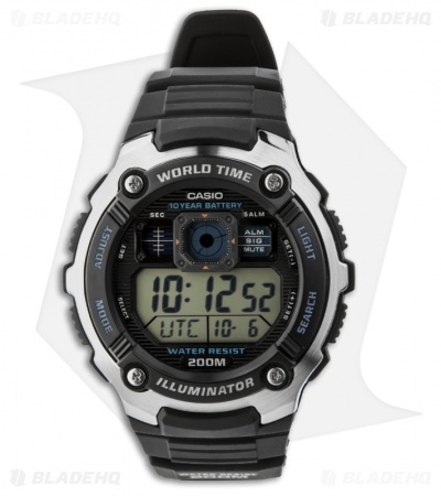 Casio Digital Multi-Function Men's Watch AE-2000W-1AVCF