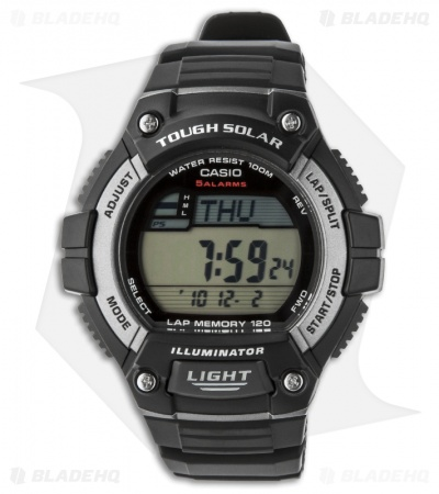 Casio Digital Watch Tough Solar Power WS-220-1AVCF