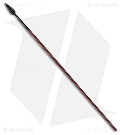 "Cold Steel 81"" MAA Classic Leaf Shaped Spear (Black) 95MSL"