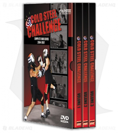 Cold Steel Challenge Complete DVD Series (3 Disc Set) VDCSC