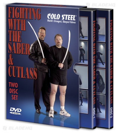 Cold Steel Fighting with the Saber DVD (2 Disc Set) VDFSC