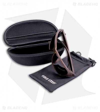 Cold Steel Mark-III Battle Shades Sunglasses (Matte Brown)