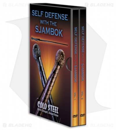 Cold Steel Self Defense with the Sjambok DVD (2 Disc Set) VDFSK