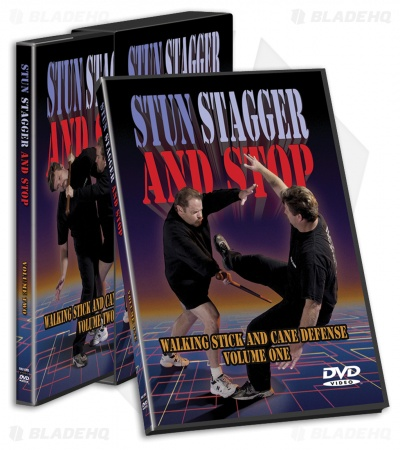 Cold Steel Stun Stagger and Stop DVD (2 Disc Set) VDSC