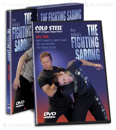 Cold Steel The Fighting Sarong DVD (2 Disc Set) VDFS