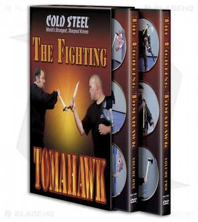 Cold Steel The Fighting Tomahawk DVD (2 Disc Set) CSVDFT