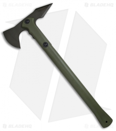 Cold Steel Trench Hawk Drop Forged Axe OD Green - 90PTHGZ