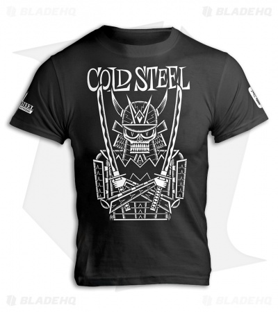 Cold Steel Undead Samurai Short Sleeve T-Shirt (Black)