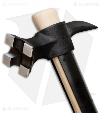 Cold Steel War Hammer w/ Hickory Wood Handle (Black) 90WHA