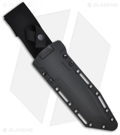 "Cold Steel G.I. Tanto Tactical Fixed Blade Knife (7"" Black) 80PGTK"