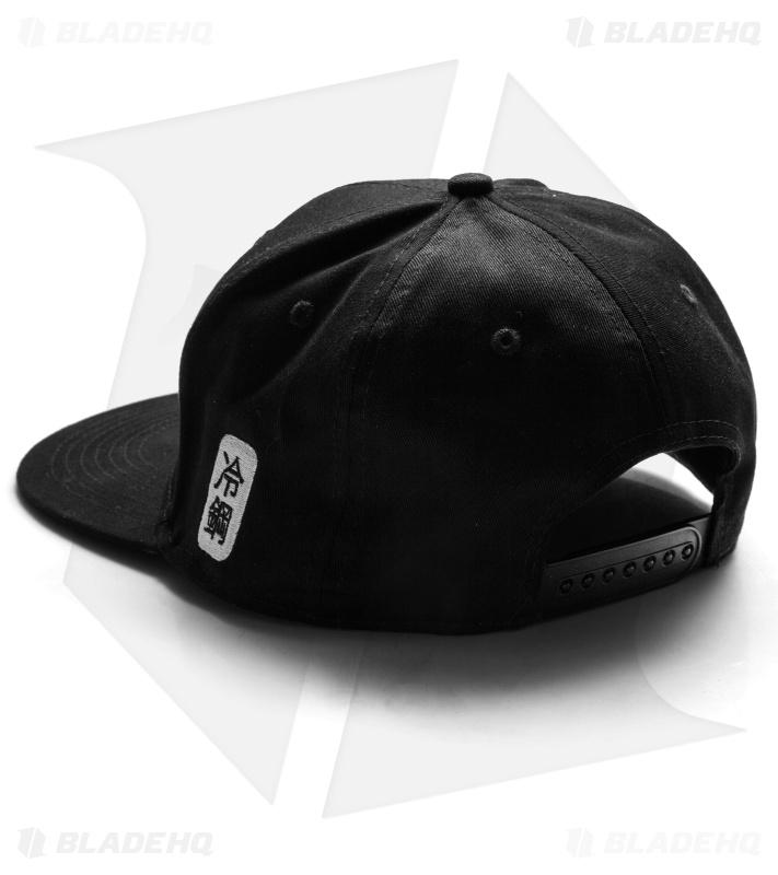 Cold Steel Kanji Black Ball Hat Cap 94HCSX - Blade HQ 7d41c2f8678