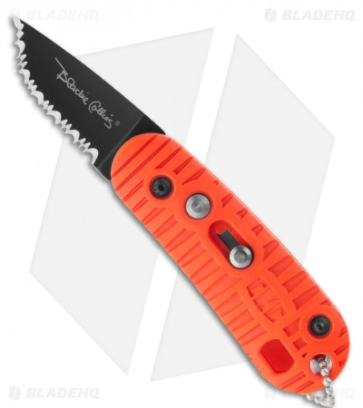 "Colonial 102 Series Automatic Knife Orange (1.75"" Black Serr)"
